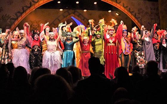 "Fra premieren på Eventyrteatrets musical ""Skovens dronning"" i Tivolis Glassal, oktober  2019 - foto: Hasse Ferrold"