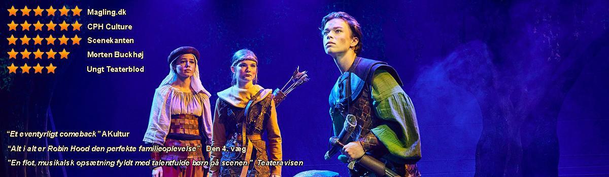 Eventyrteatrets familiemusical Robin Hood - Foto: Ole Mortensen