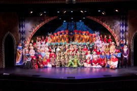 Fra Eventyrteatrets familiemusical Skovens Dronning, oktober 2019, Glassalen i Tivoli - Alle medvirkende - teater, børneteater, musical