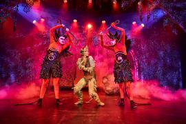 Fra Eventyrteatrets familiemusical Skovens Dronning, oktober 2019, Glassalen i Tivoli - Eventyrteatret i Glassalen - Djævle og Tutivillus 2- teater, børneteater, musical