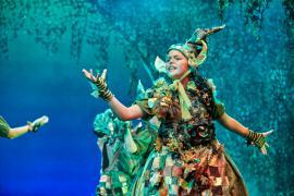 Fra Eventyrteatrets familiemusical Skovens Dronning, oktober 2019, Glassalen i Tivoli - Eventyrteatret i Glassalen - Pritivi - teater, børneteater, musical