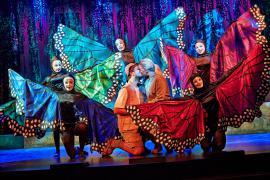"Foto fra Eventyrteatrets familiemusical ""Eldorado"", Glassalen i Tivoli oktober 2013"