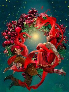 Det magiske julebånd plakatbillede uden titel