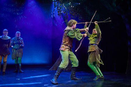 Pressebillede Robin Hood musical i Glassalen