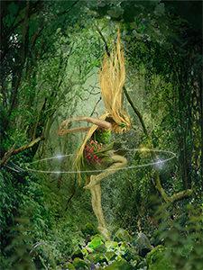 Plakatbillede fra Skovens Dronning uden titel