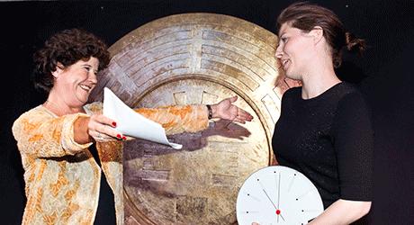 Cecilie Stenspil - første modtager af Eventyrprisen (Eventyrteatret)