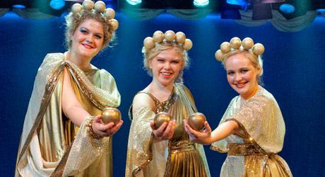 "Nanna Rossen i Eventyrteatrets musical ""Herkules"" 2011"