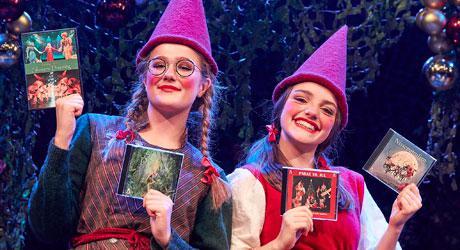 Julegaver - DVD'er og CD'er med Eventyrteatrets familiemusicals