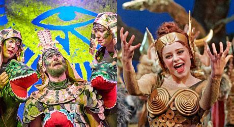 Daniel Vendelborg og Minna Flyvholm Tode er to af de seks tidl. elever på Eventyrteatret, som i 2021 er optaget på en skuespilleruddannelse
