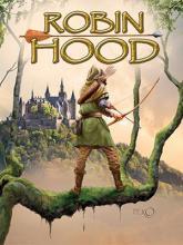 Plakat: Per O - Eventyrteatrets Robin Hood