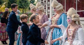 """Kongelige gæster til premieren på Eventyrteatrets familiemusical """"Den Magiske Maske"""""""