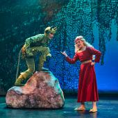 Fra Eventyrteatrets familiemusical Skovens Dronning, oktober 2019, Glassalen i Tivoli - Tutivillus og Prinsesse Margrete - teater, børneteater, musical