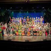 Foto Ole Mortensen - Robin Hood Cast fra Eventyrteatrets Robin Hood