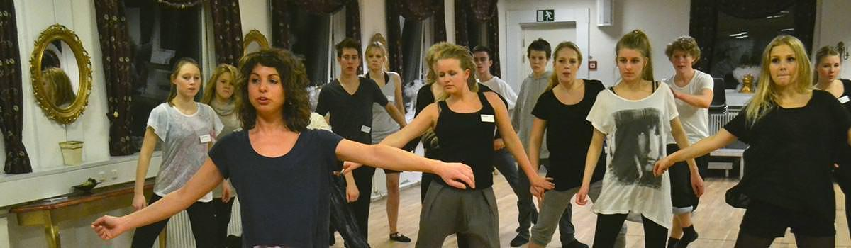 Dramaskolen dans