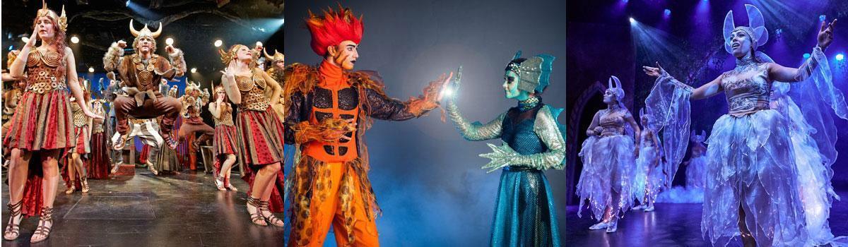 Eventyrteatret laver nyt show på Oslobåden i skolernes påskeferie