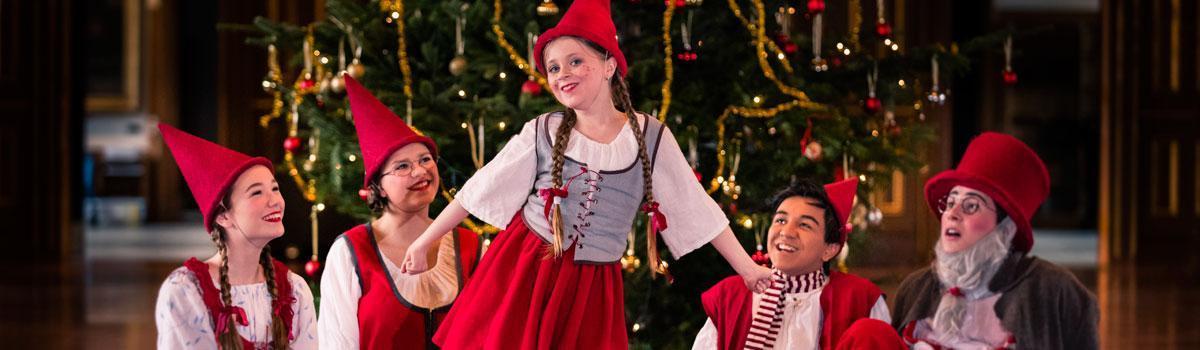 Eventyrteatret juleshow på Kronborg - foto Hergaard Fotografi