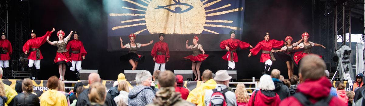 Eventyrteatret show på Langelandsfestival 2017