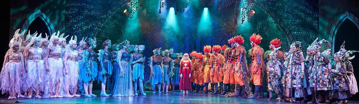 Køb eller lej digitale videoer med Eventyrteatrets musicals på Contentbase